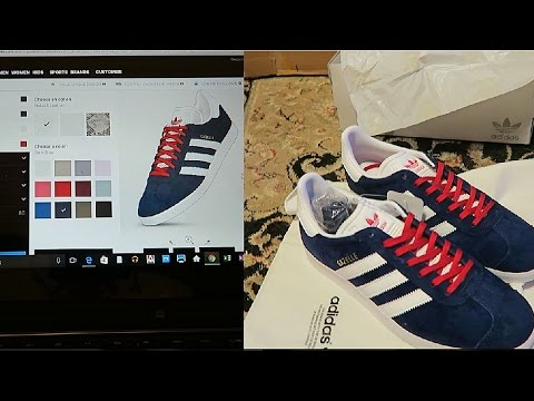 ADIDAS Design your own custom sneaker!