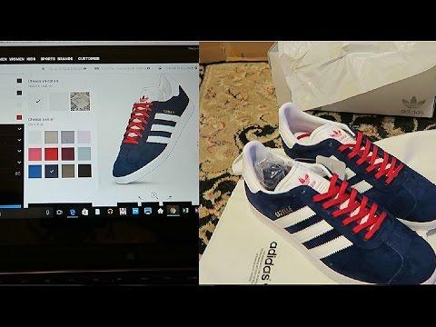 ADIDAS Design your own custom sneaker!