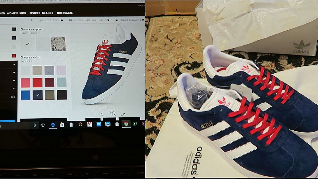 ADIDAS Design your own custom sneaker! - YouTube a874d5318e