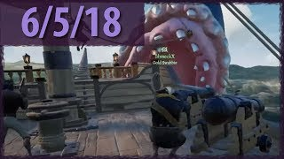 SEA OF THIEVES (Hungering Deep!) ⫽ BarryIsStreaming