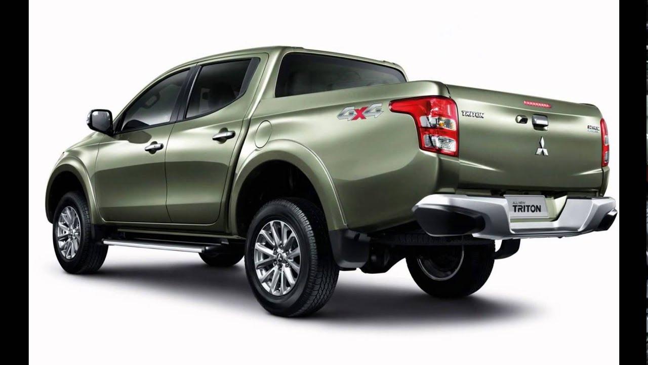 2016 Mitsubishi Triton L200 Earth Green Metallic