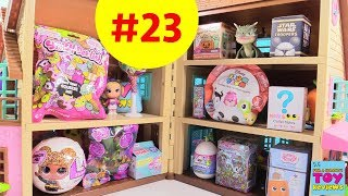 Blind Bag Dollhouse #23 Unboxing Disney LOL Glitter Surprise Toy Review | PSToyReviews