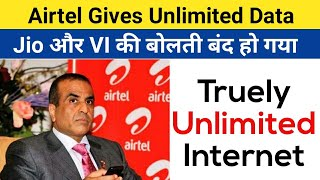 Airtel Gives Unlimited Internet | Great Plan By Airtel But thats Not enough