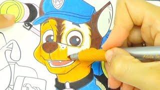 Щенячий патруль раскраска для детей  Coloring pages