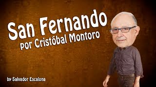SAN FERNANDO de Manolo García, por Cristóbal Montoro - PARODIA