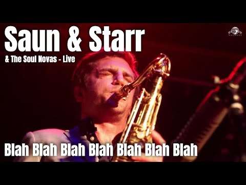Blah Blah Blah Blah Blah Blah Blah  - Saun & Starr Live @ The Beatclub (Dolhuis)