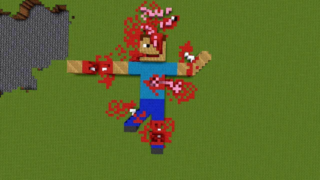 Minecraft steve dies again creeper encounter youtube - Minecraft creeper and steve ...