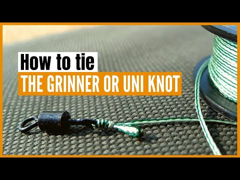 double uni knot instructions