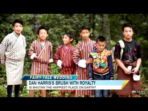 King of Bhutan Ties the Knot