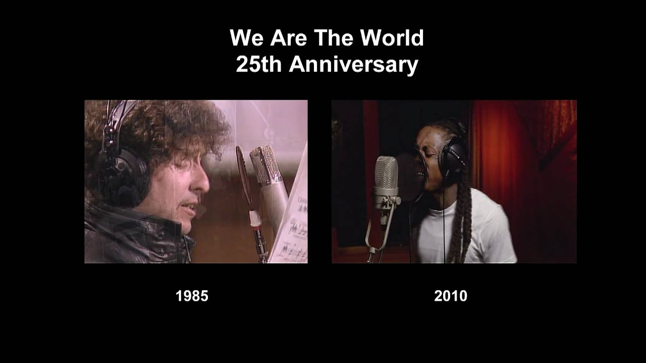 25th anniversary we are the world