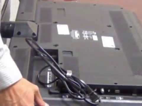 Sanyo FVD3924 HD Television Unboxing