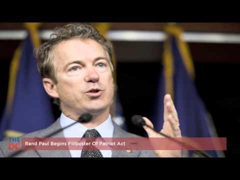 Rand Paul Begins Filibuster