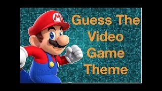 GUESS THE VIDEO GAME SOUNDTRACK CHALLENGE
