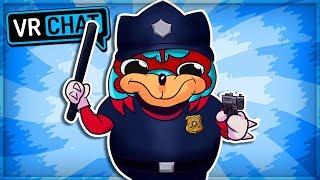 UGANDAN KNUCKLES POLICE! - UGANDA P.D. (VRChat Funny Moments)