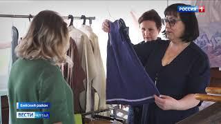 В Бийском районе открылся музей льна