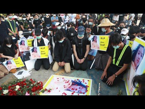 انقلاب بورما: مقتل متظاهرين اثنين على الأقل خلال الاحتجاجات المستمرة ضد المجلس العسكري  - 20:58-2021 / 2 / 20