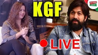 KGF Movie Team interview with Shilpa Chakravarthy | KGF Movie EXclusive Release Live EVENT