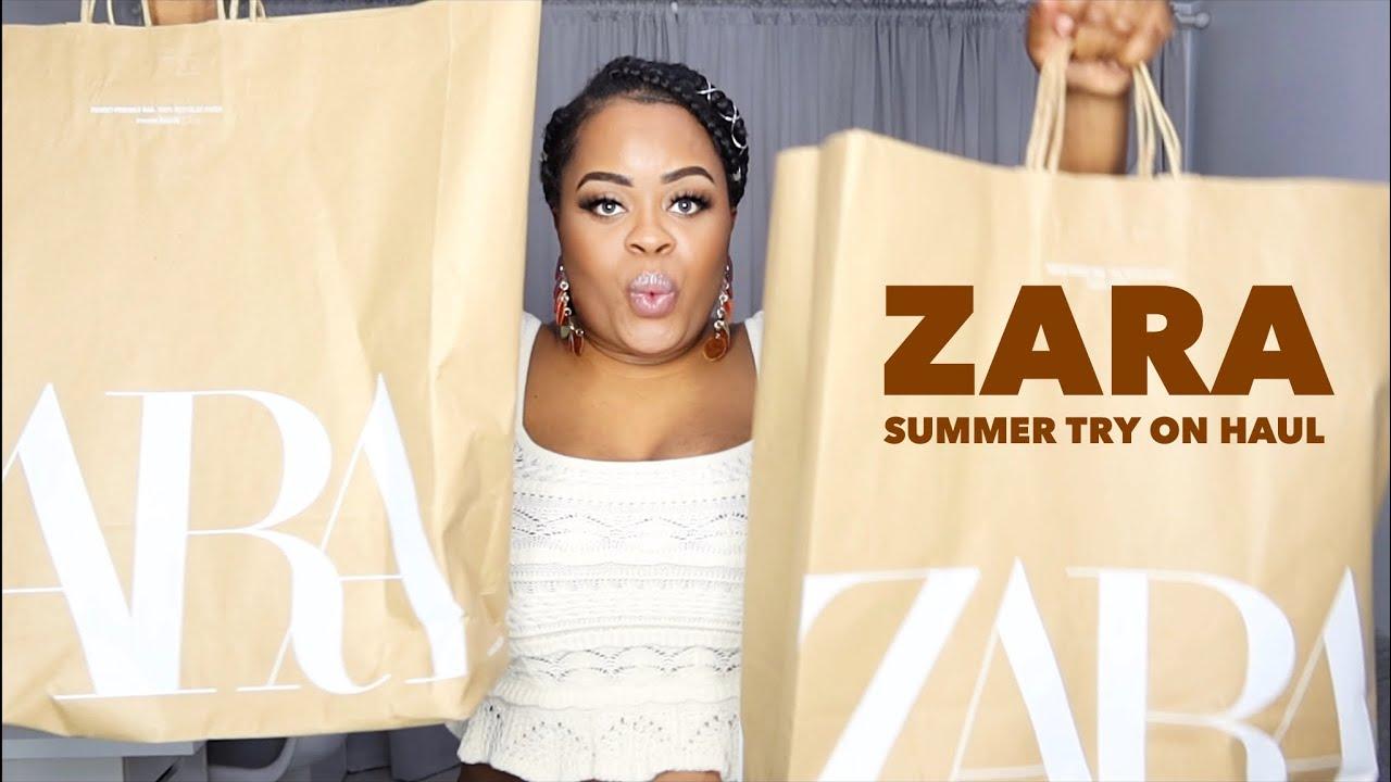 Plus Size Zara Summer Try On Haul | Edee Beau