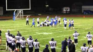Kent Island Football - Stephan Decatur 10-1-10 - Ryan Earls Kicker/Punter