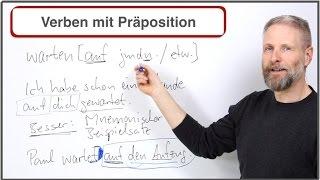 Lerntipp für Verben mit Präpositionen