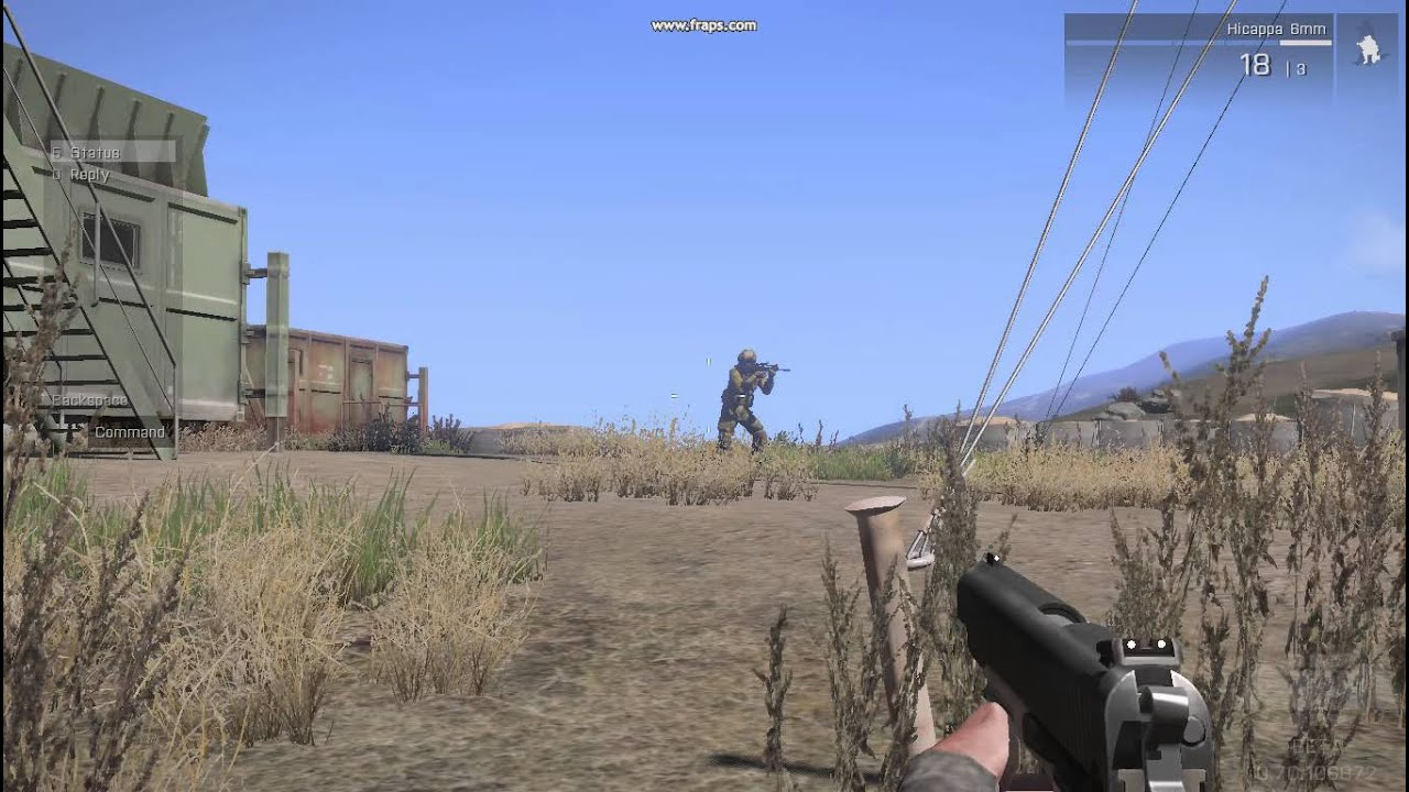 Arma 3 airsoft mod