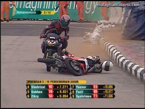 2013 Cub Prix - Crash Compilation - PETRONAS AAM Malaysian Cub Prix Championship