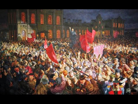Harvey Goldberg Lectures! Lenin, The World War and The October Revolution