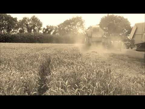 1960's Farming Machines at work.