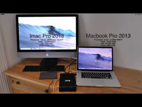 IMac Pro test for music production