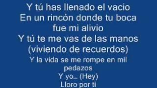 Lloro por ti - Wisin y Yandel(letra)J.E