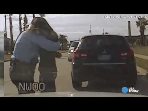 Watch: Police Pull Over Man So He Can Propose 2