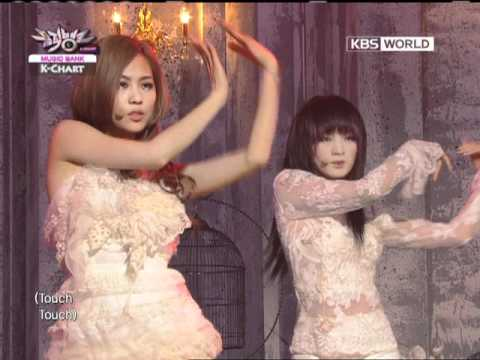 [Music Bank K-Chart] Touch - Miss A (2012.02.24)
