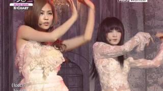 [Music Bank K-Chart] Touch - Miss A (2012.02.24)