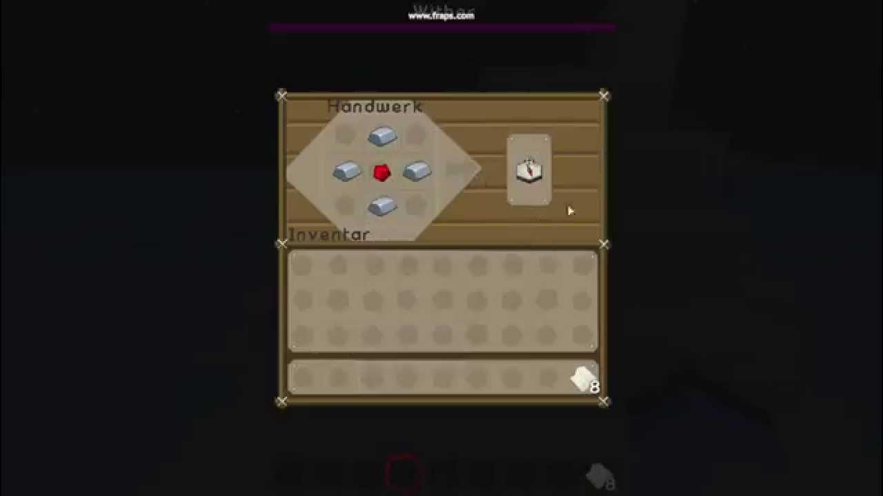 Karte Minecraft.Minecraft Tutorial Kompass Und Leere Karte