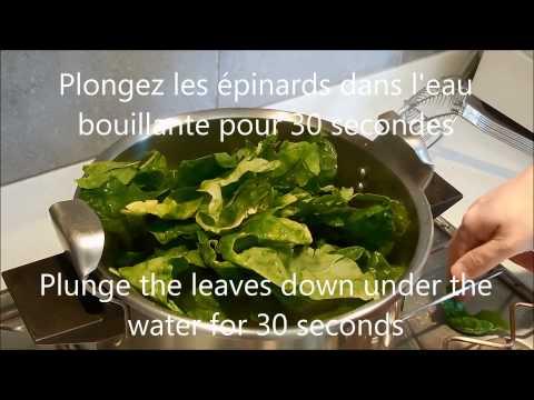 comment-preparer-des-épinards---how-to-prepare-spinach