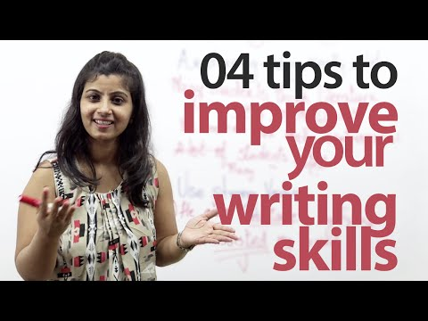 How to improve your English writing skills? - Free English l