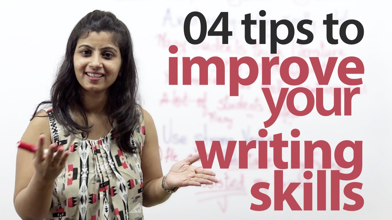 How to improve your English writing skills? - Free English lesson ...