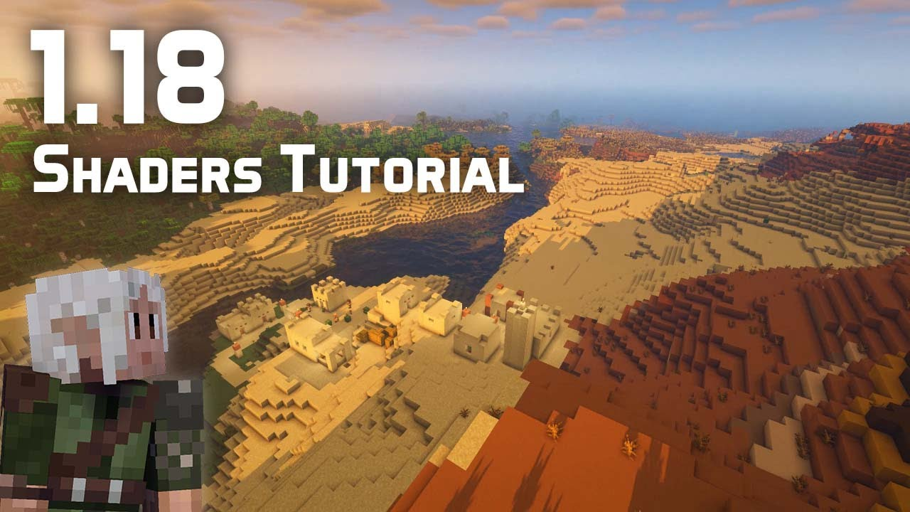 How to Play With Shaders in the Minecraft 1.18 Experimental Snapshots
