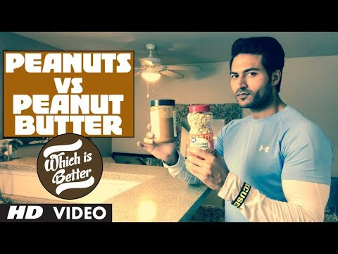 Peanuts vs Peanut Butter | Which is better? Info by Guru Mann