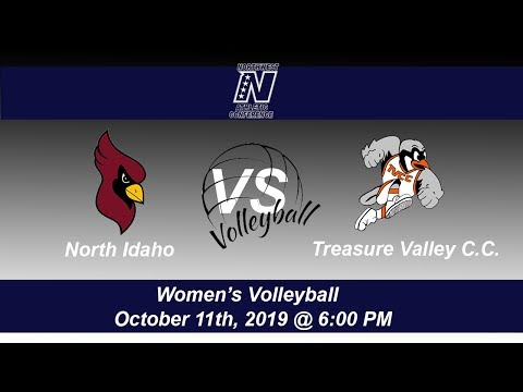 North Idaho College Volleyball host Treasure Valley Community College