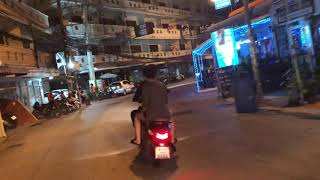 Thailand April 2018 VLOG 4 - Back to the hotel on the Moped of Death with Deena