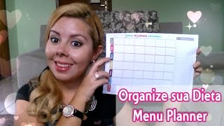 Menu Planner - Organize sua Dieta