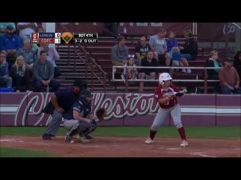 CofC Softball vs Longwood - Highlights