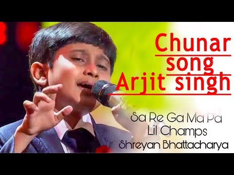 Shreyan Bhattacharya Chunar Song Sa Re Ga Ma Pa 2017