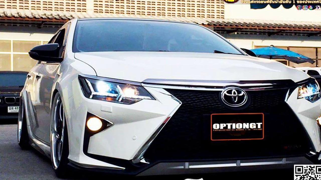 สวยสุดยอด All New Toyota Camry ชุดแต่ง Lexus โดย Optiongt