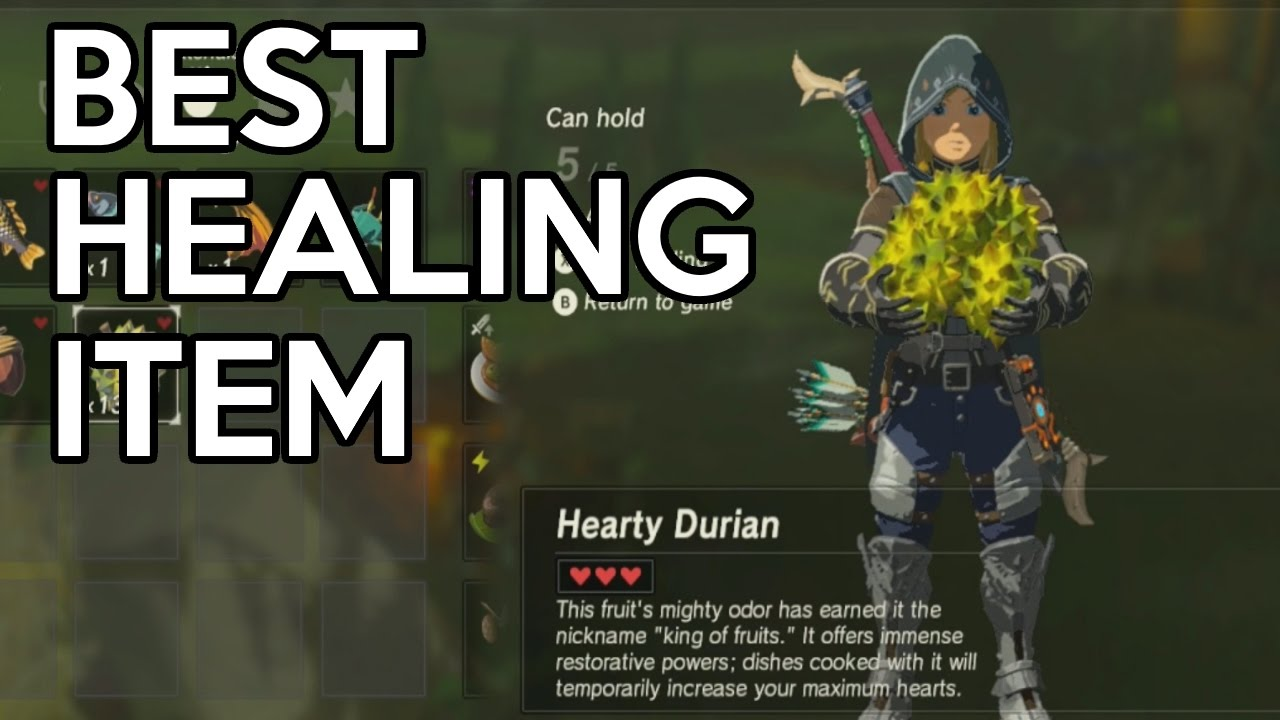 How to get the best healing itemrecipe legend of zelda breath of how to get the best healing itemrecipe legend of zelda breath of the wild forumfinder Images
