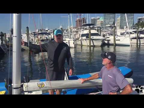 Setting up an Etchells Jib - Catch up with Jud Smith