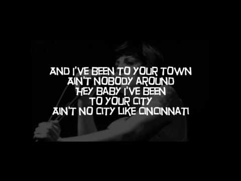 The Distillers - Cincinnati -  Lyrics on screen