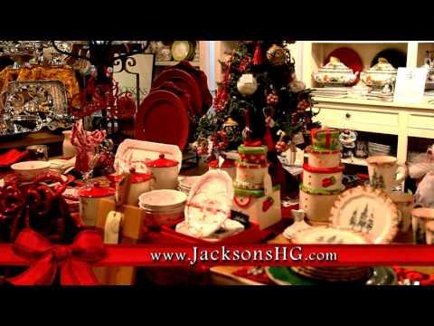 Christmas At Jacksons Home & Garden - Youtube