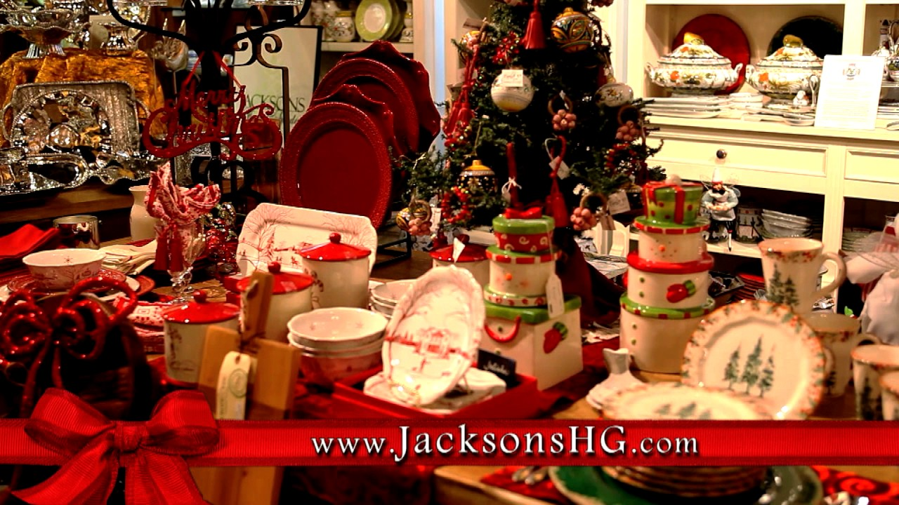 Christmas At Jacksons Home Garden Youtube